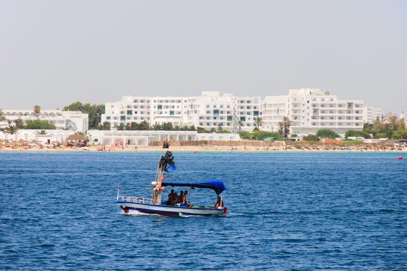 Plage en Tunisie photos stock