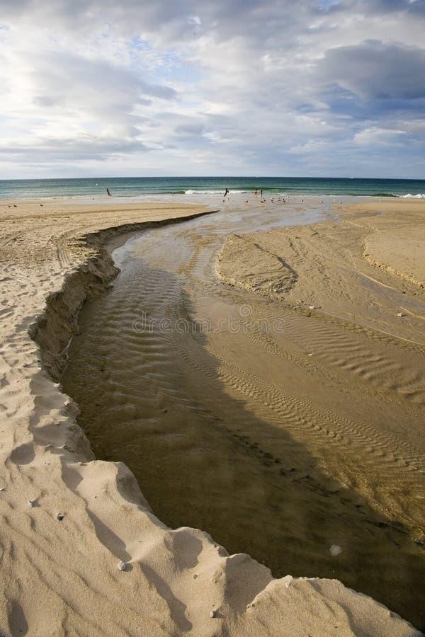 plage Espagne image libre de droits