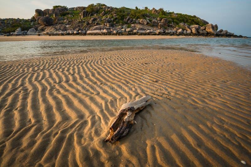 Plage est de Woody, territoire du nord, Australie photo stock