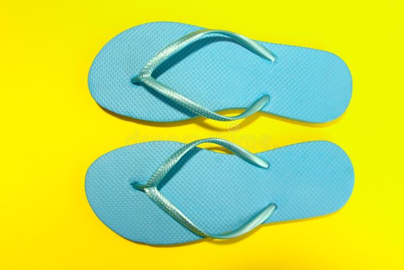 Plage Flip Flops images libres de droits