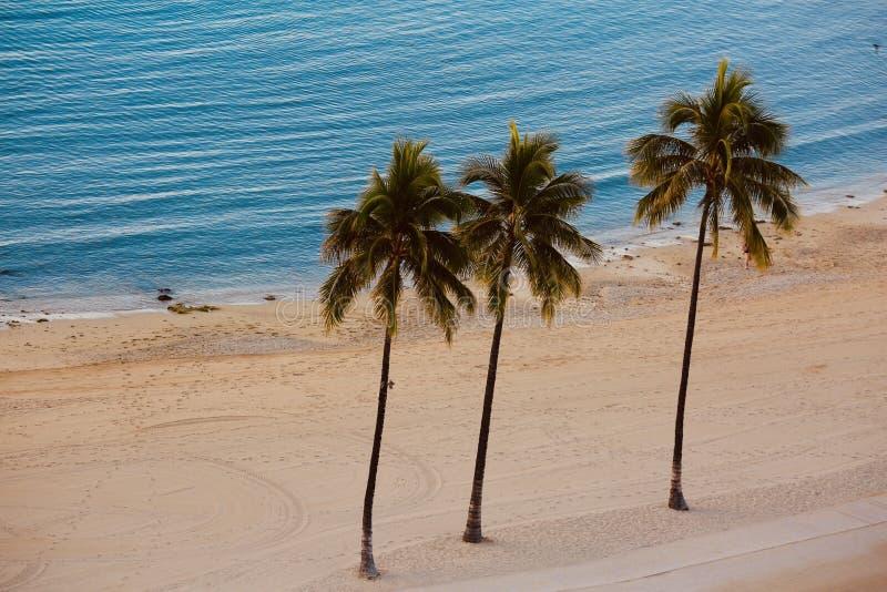 Plage Hawaï de Waikiki photo libre de droits