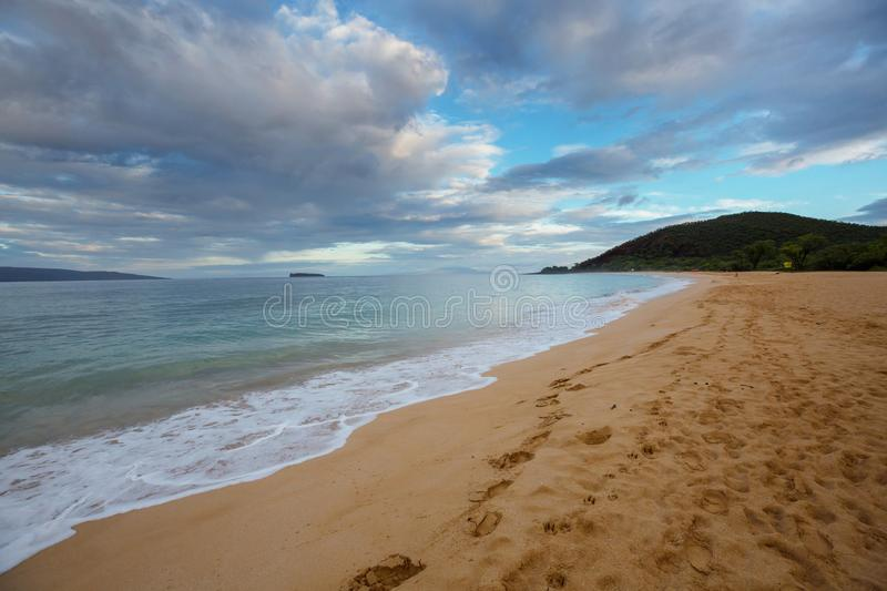 Plage hawa?enne photographie stock