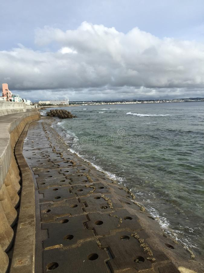 Plage l'Okinawa photographie stock