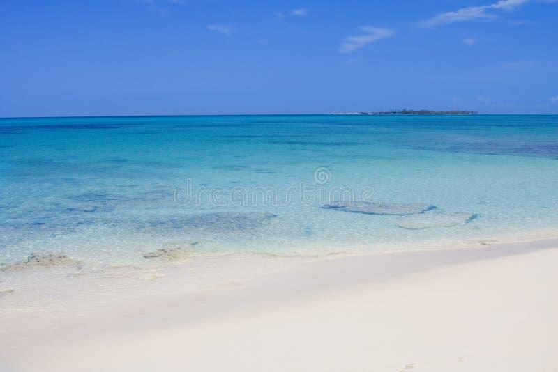 plage la belle Caraïbe photographie stock