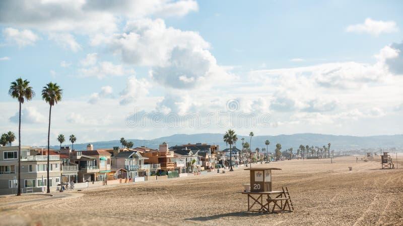 Plage la Californie 1 de Newport images stock
