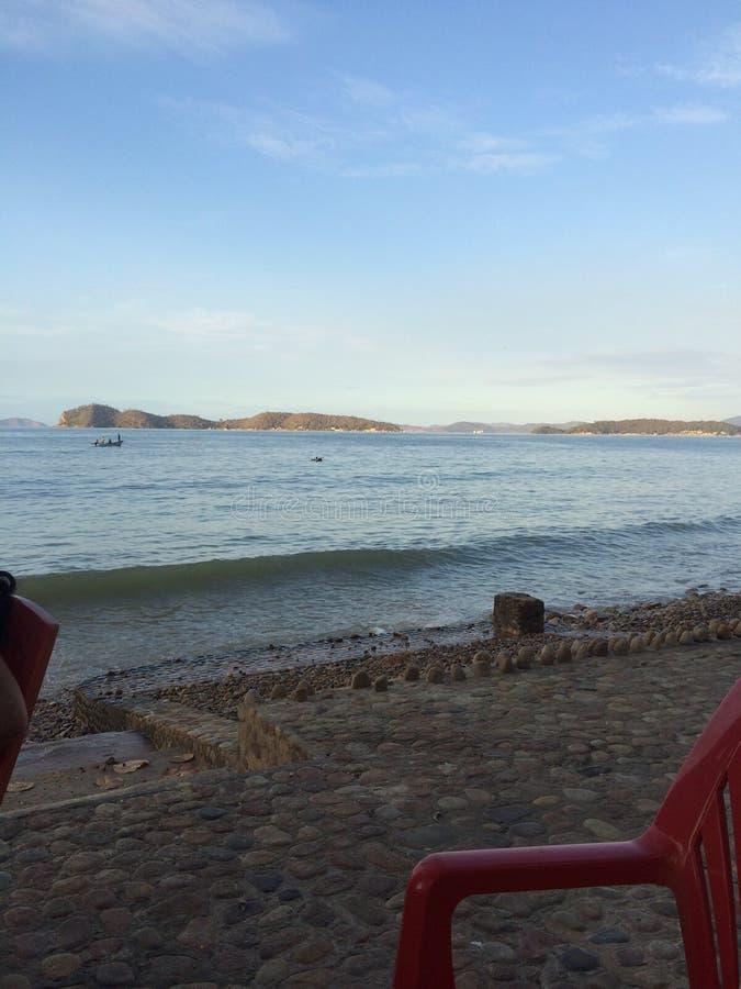 Plage la Caraïbe Caribe de Playa photos libres de droits