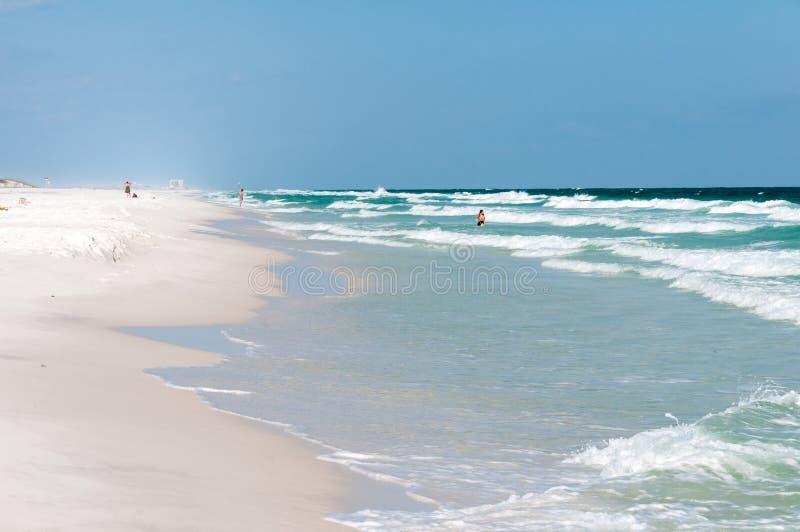 Plage la Floride de Pensacola images stock