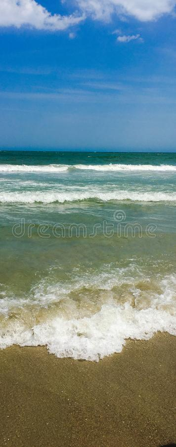 Plage lumineuse images stock