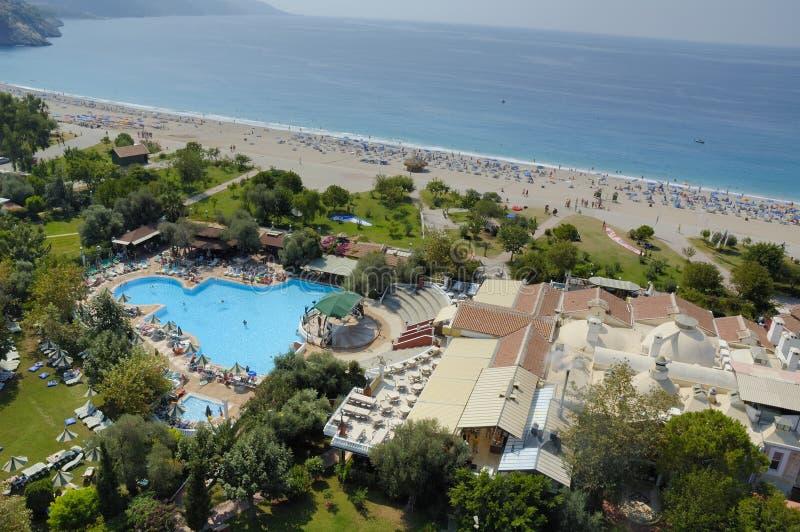 Plage méditerranéenne images stock
