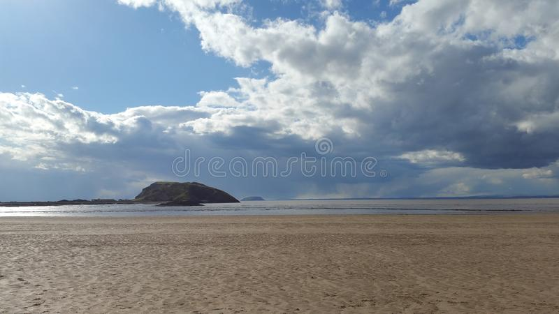 Plage occidentale photographie stock