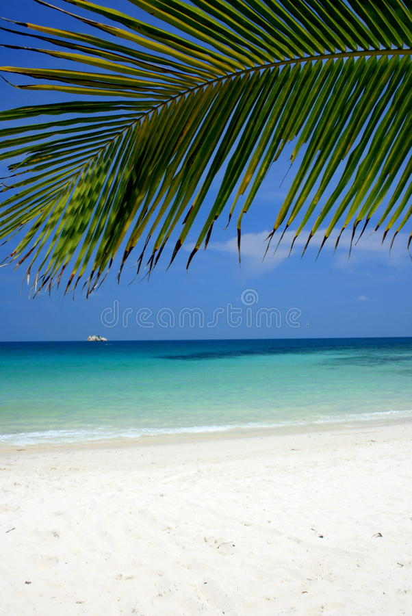 Plage paisible photos stock
