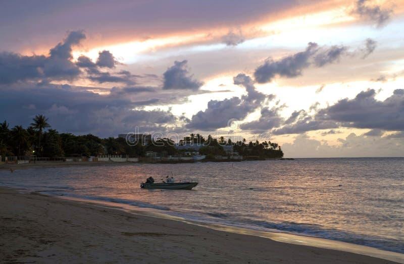 Plage Porto Rico de Dorado images libres de droits