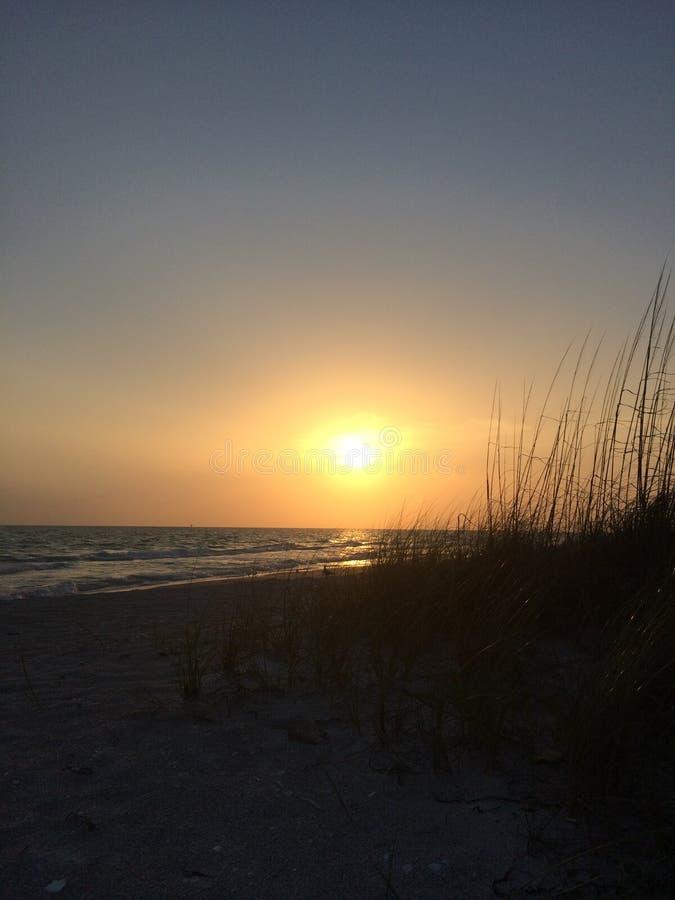 Plage principale Bradenton la Floride de chaloupe photo libre de droits