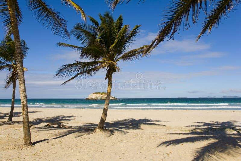 Plage sur l'île Margarita photo libre de droits