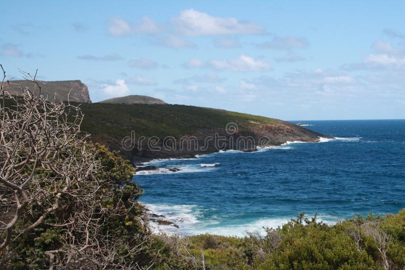Plage tasmanienne images libres de droits