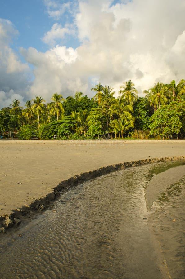 Plage tropicale de Manuel Antonio - Costa Rica photos stock