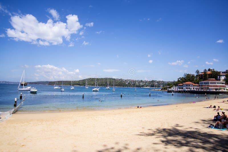 Plage virile en Sydney Australia photo stock