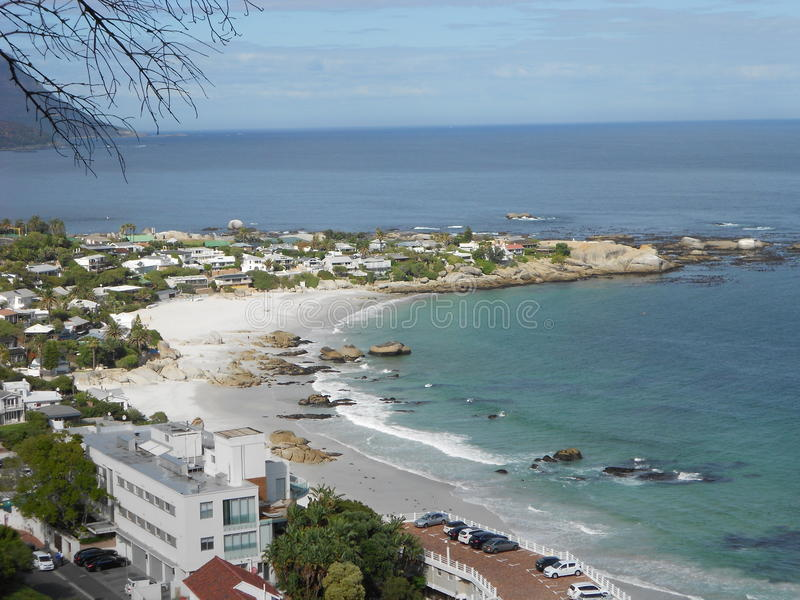 Plages de Cape Town images libres de droits