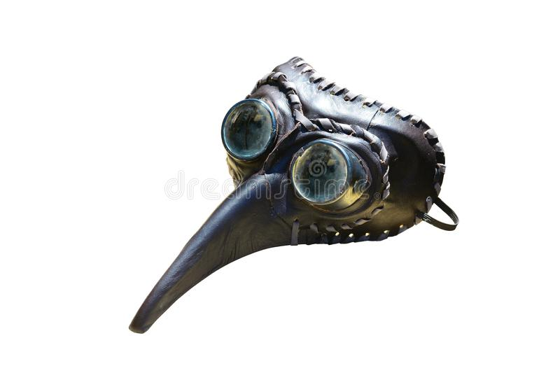 Plague doctor mask stock photography