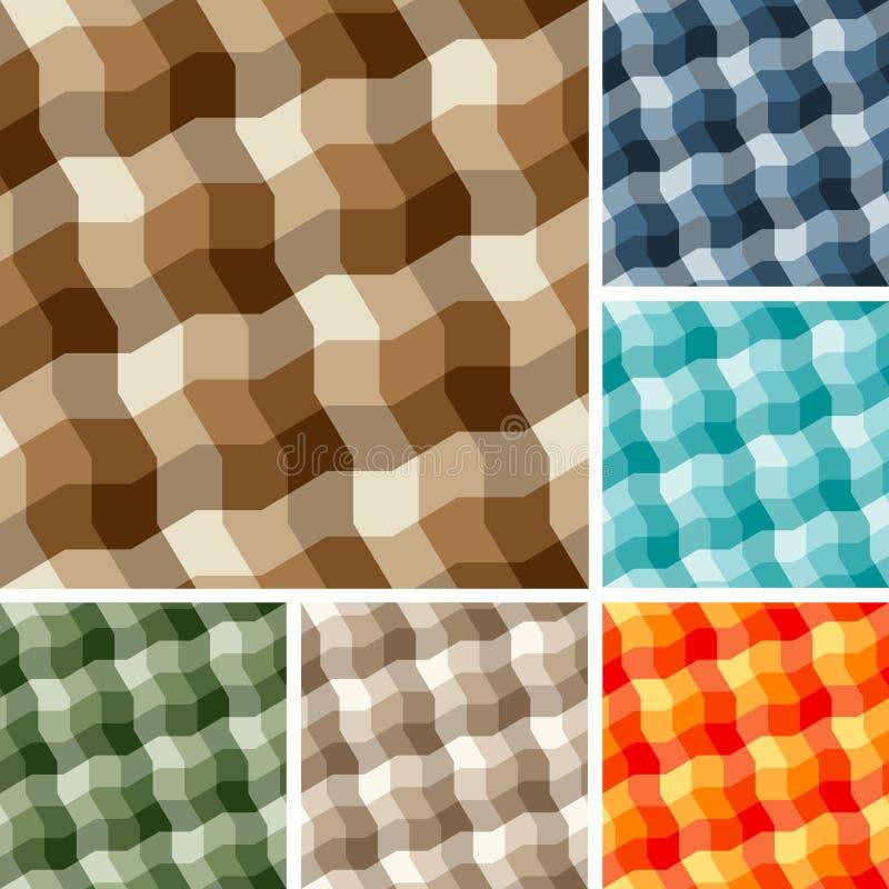 plaid προτύπων άνευ ραφής απεικόνιση αποθεμάτων