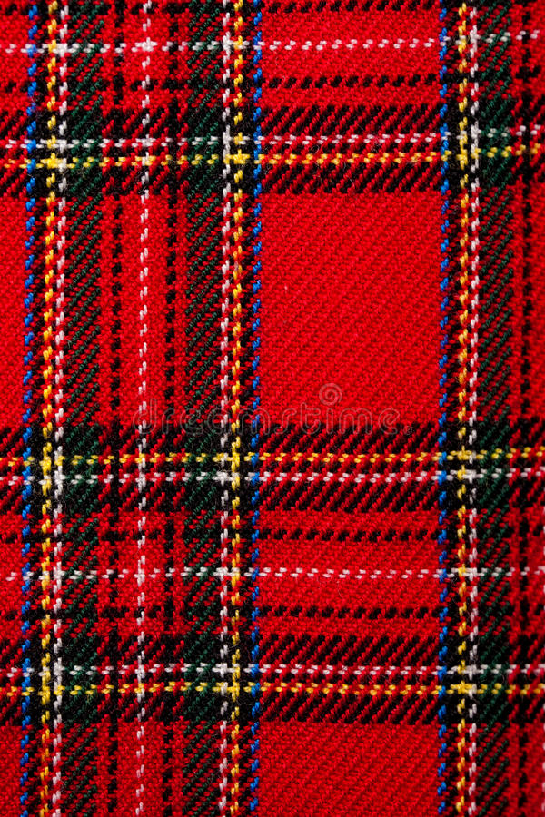 Download Plaid fabric stock photo. Image of cotton, celtic, tartan - 12229822