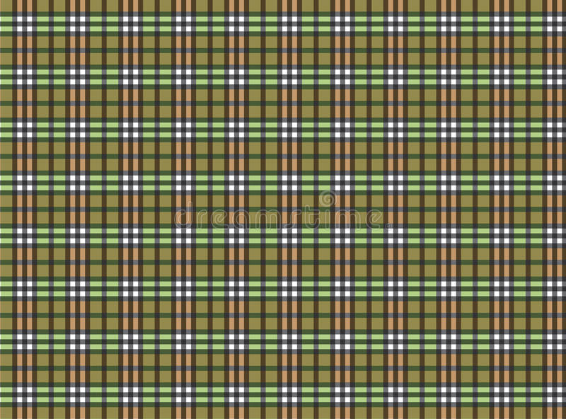 Plaid illustrazione di stock
