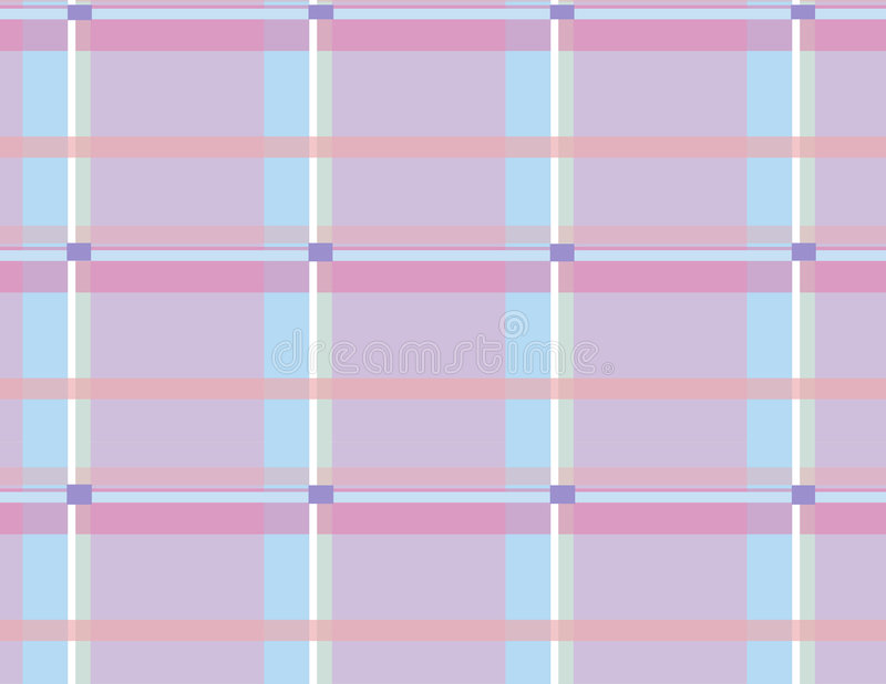 Download Plaid 6 stock illustration. Illustration of squares, peach - 552956
