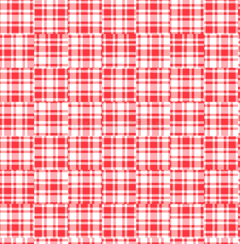 Plaid background vector illustration