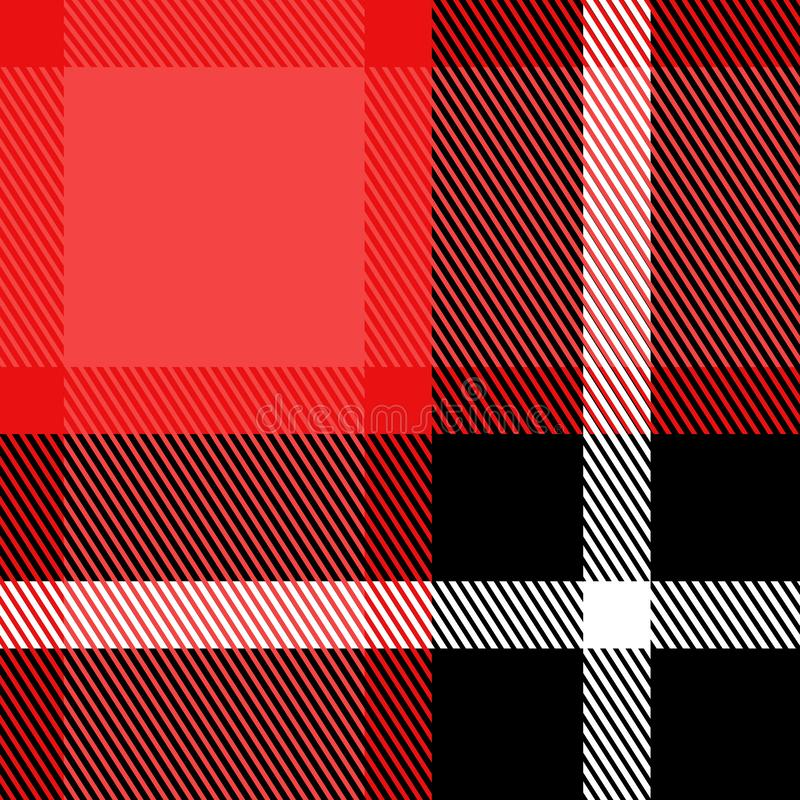Plaid Checkered Fabric Pattern vector texture print vector illustration