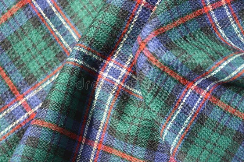 Plaid de tartan écossais images libres de droits