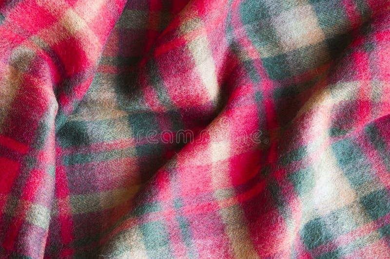 Plaid di lana immagini stock libere da diritti