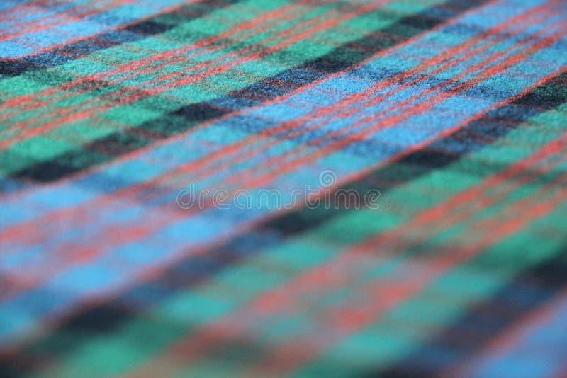 Plaid di tartan scozzese immagine stock