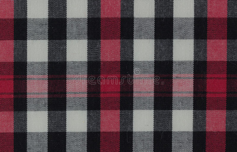 Plaid Fabric stock photos