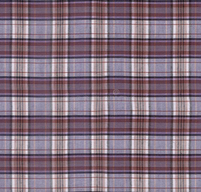 Plaid Fabric Texture royalty free stock photo