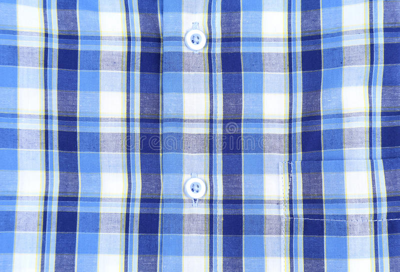 Download Plaid Man Shirt, Button Close-up Background Stock Image - Image: 31962179