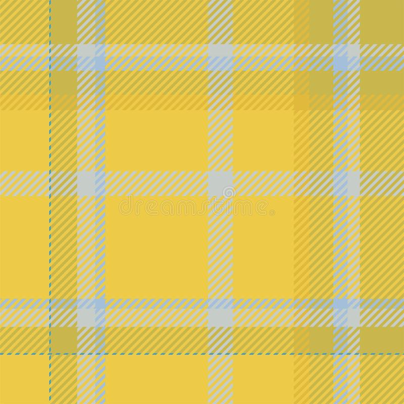 Plaid-Mustervektor Schottenstoffschottlands nahtloser Retro- Hintergrundgewebe Geometrische Beschaffenheit des Weinlesekontrollfa vektor abbildung