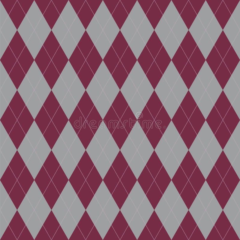 Plaid-nahtloses Muster Vektorverzierung gebildet in einer Twillwebart vektor abbildung