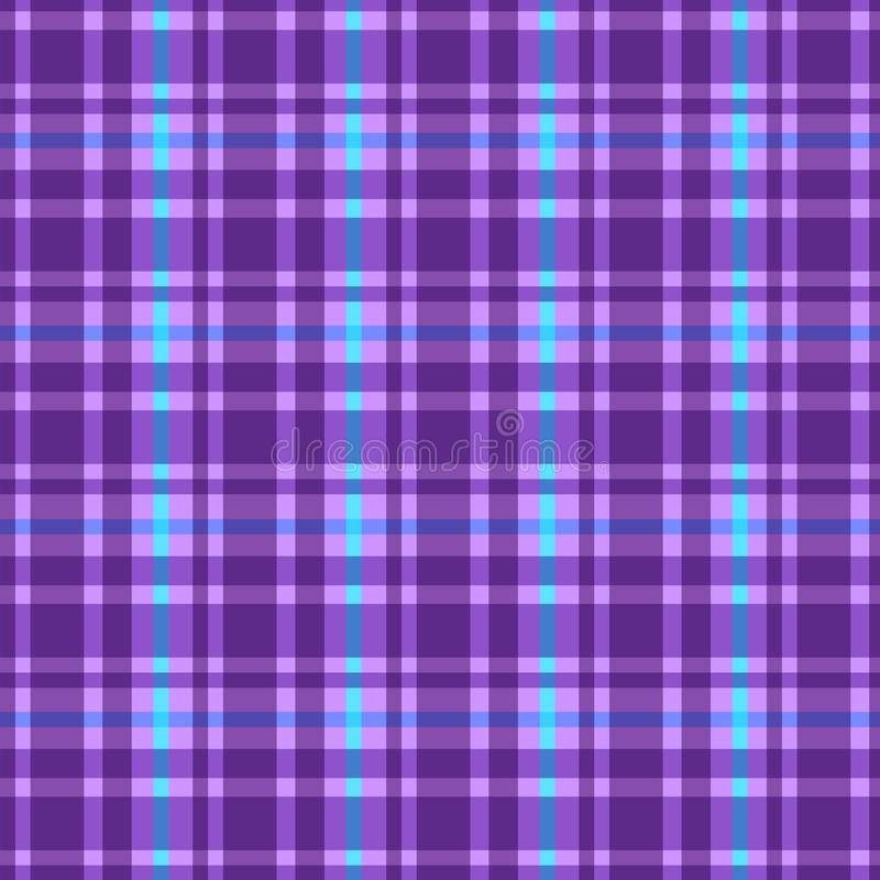 Plaid pattern royalty free illustration