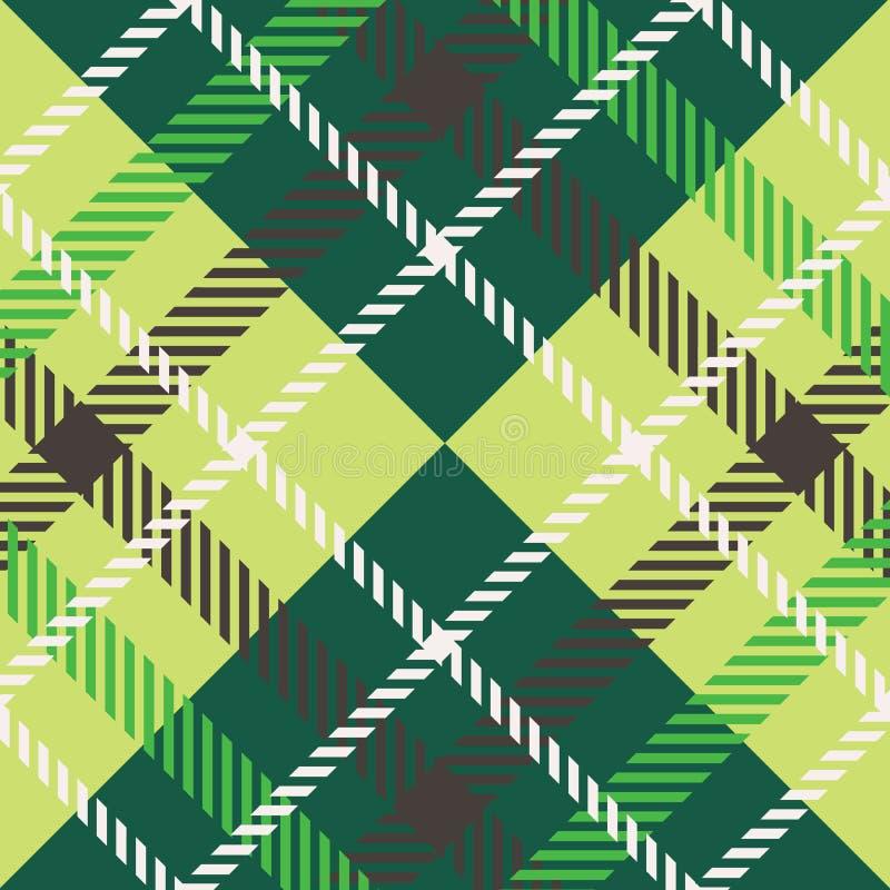 Plaid pattern vector illustration