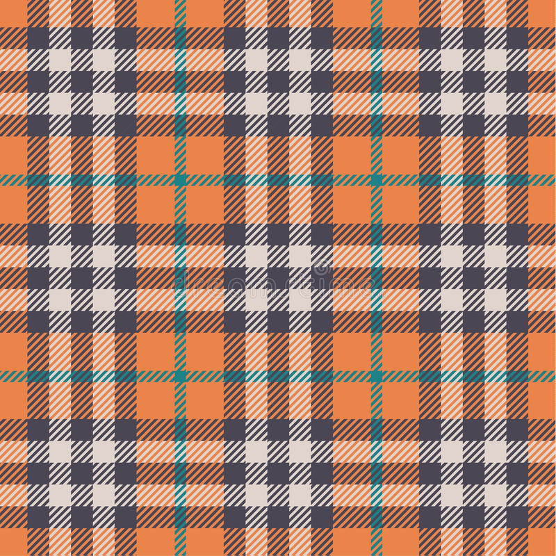 Plaid pattern stock illustration