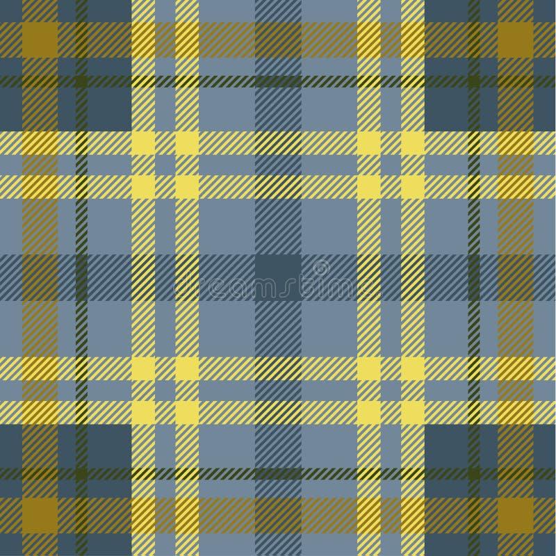 Plaid pattern royalty free illustration