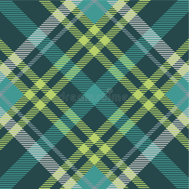 Plaid pattern vector illustration