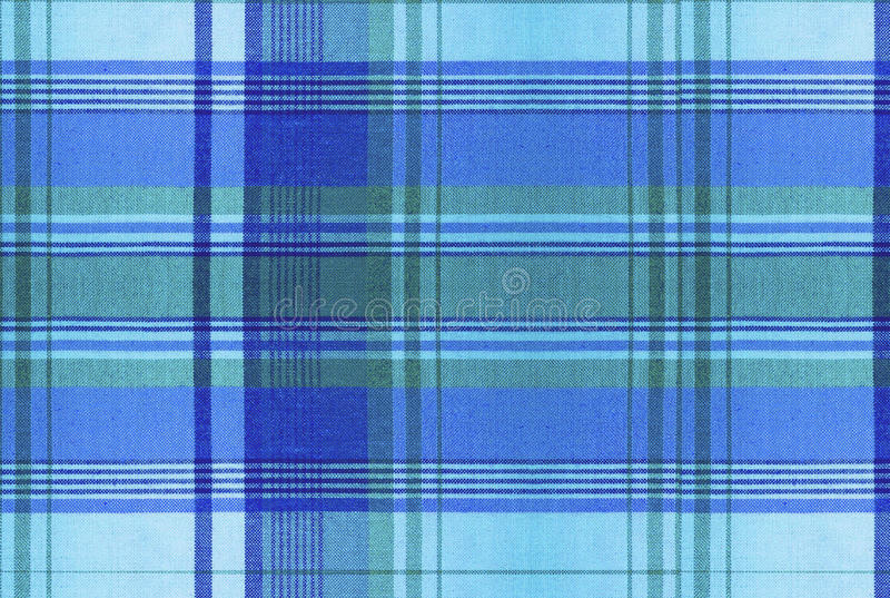 Plaid pattern - Tartan Clothing Table royalty free stock photos