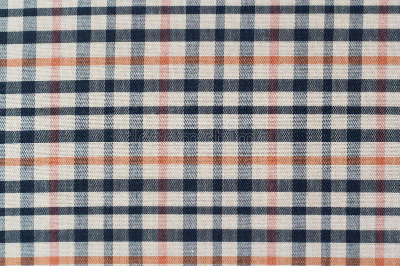Plaid Pattern. Texture of plaid fabric background royalty free stock photography