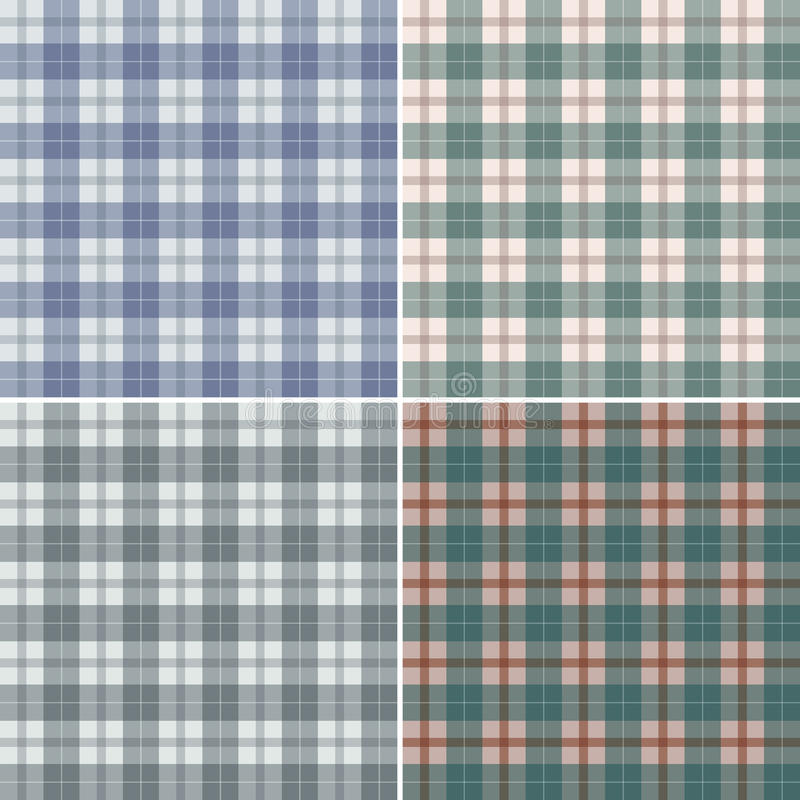 Plaid scozzese astratto royalty illustrazione gratis