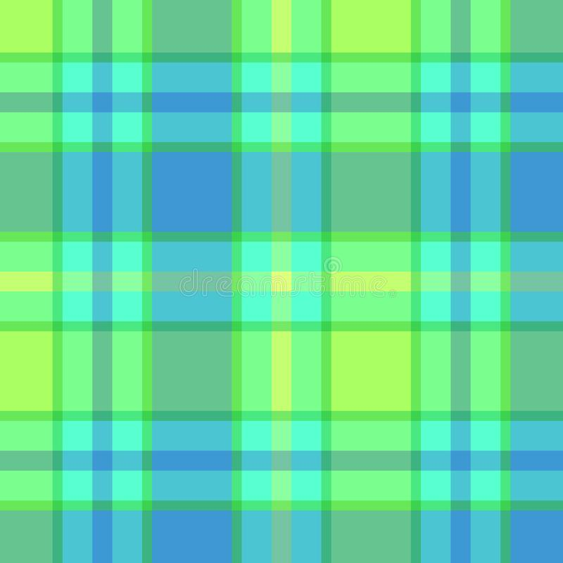 Plaid seamless pattern design royalty free stock photo
