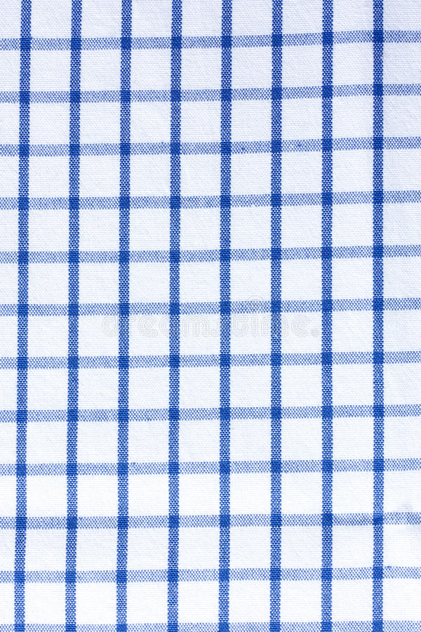 Plaid table clothes - Blue Fabric Cotton. Cotton fabrics discovered in a cave near Tehuacan, Mexico have been dated to around 5800 BC, although it is difficult royalty free stock photography