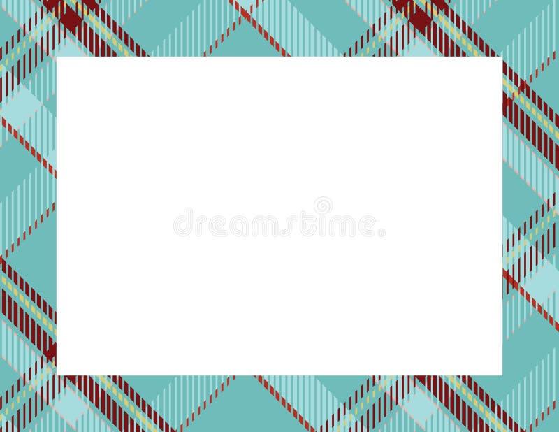 Plaid Tartan Frame vector illustration