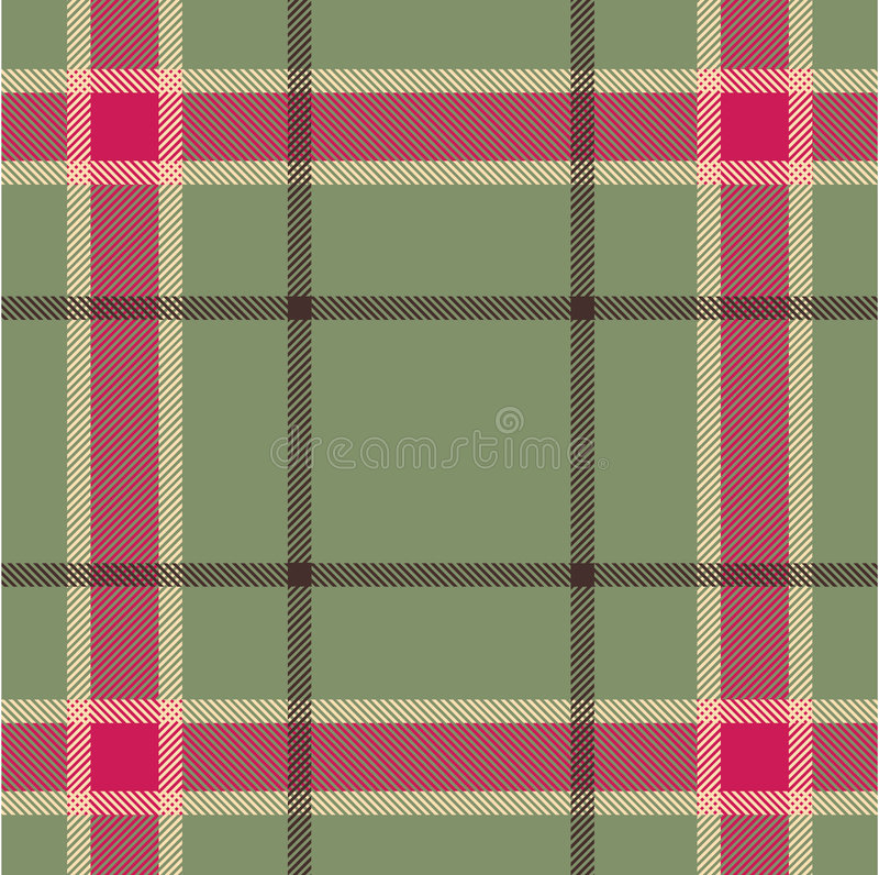 Plaid texture royalty free illustration