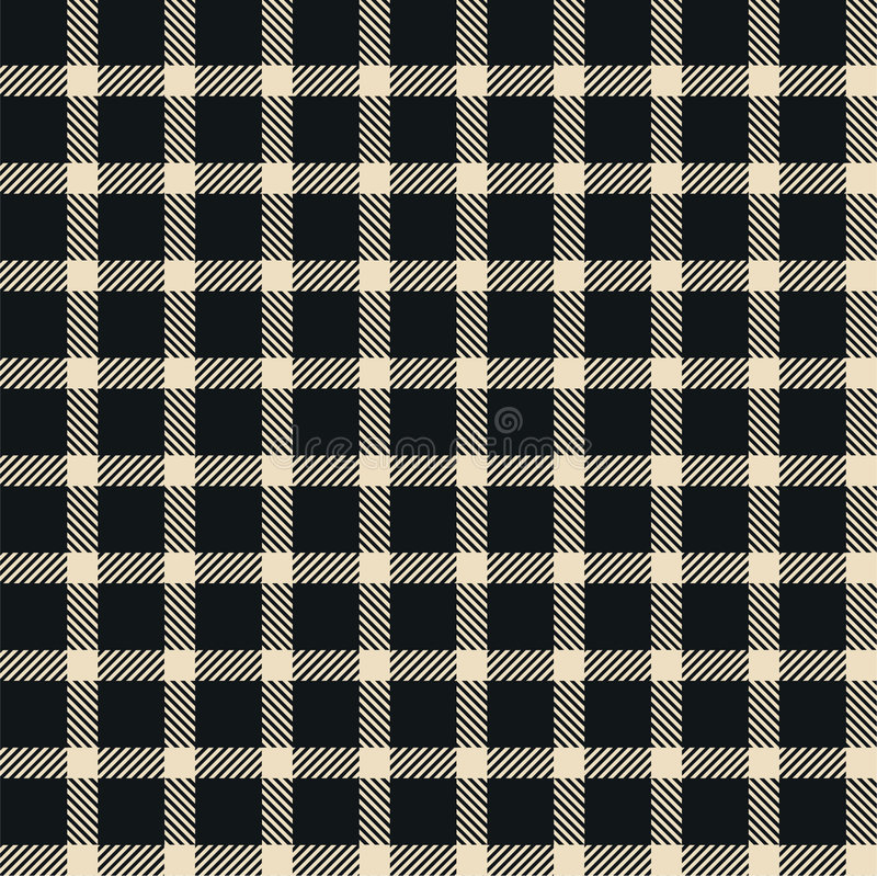 Plaid texture, seamless pattern stock illustration